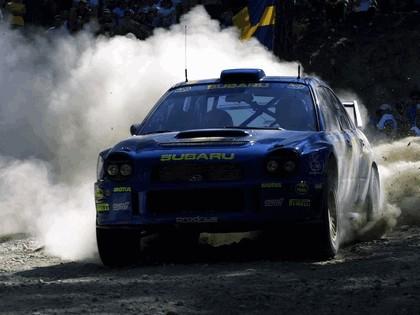 2001 Subaru Impreza WRC 143