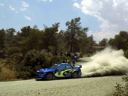 2001 Subaru Impreza WRC 144