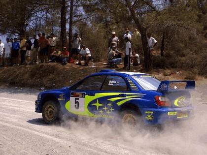 2001 Subaru Impreza WRC 145