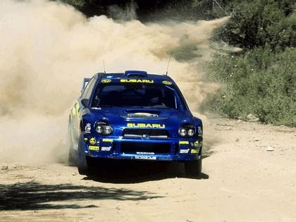 2001 Subaru Impreza WRC 146