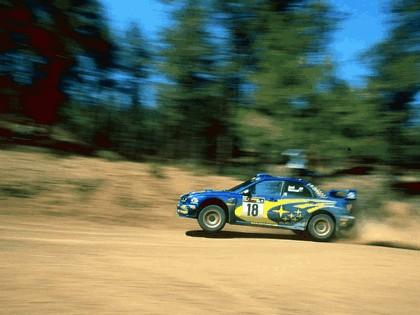 2001 Subaru Impreza WRC 156