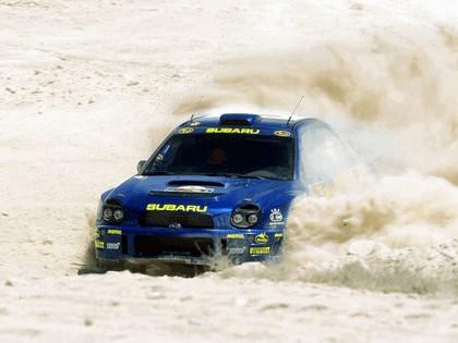 2001 Subaru Impreza WRC 160