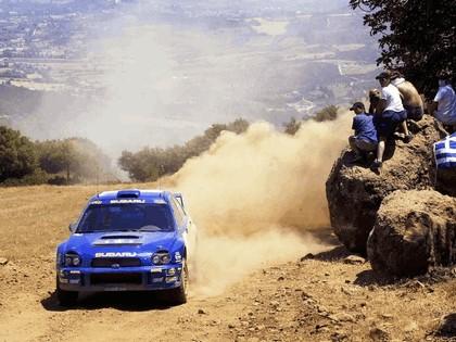 2001 Subaru Impreza WRC 162