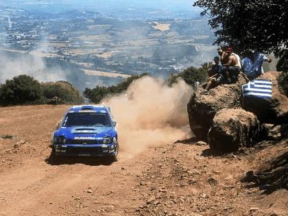 2001 Subaru Impreza WRC 166