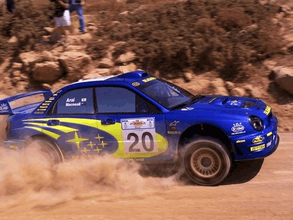 2001 Subaru Impreza WRC 172