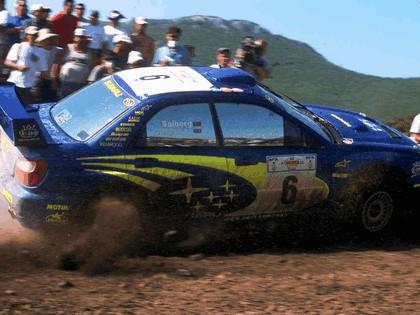 2001 Subaru Impreza WRC 177