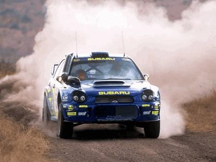 2001 Subaru Impreza WRC 185