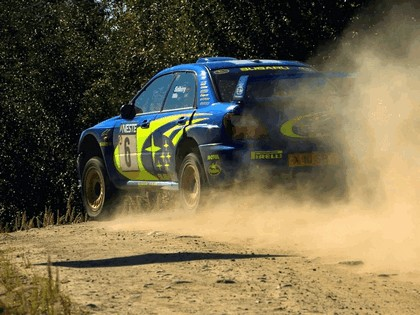 2001 Subaru Impreza WRC 204