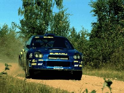 2001 Subaru Impreza WRC 206