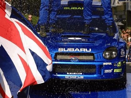 2001 Subaru Impreza WRC 207