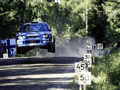 2001 Subaru Impreza WRC 215