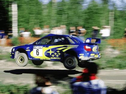 2001 Subaru Impreza WRC 219