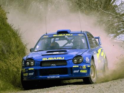 2001 Subaru Impreza WRC 221