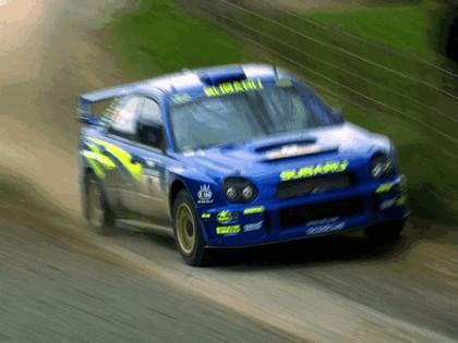2001 Subaru Impreza WRC 222