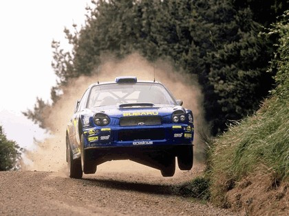 2001 Subaru Impreza WRC 235