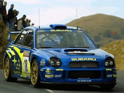 2001 Subaru Impreza WRC 242