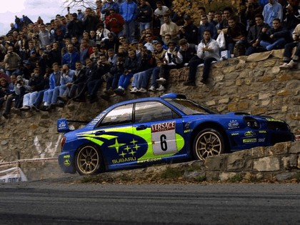 2001 Subaru Impreza WRC 243