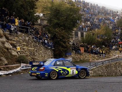 2001 Subaru Impreza WRC 245