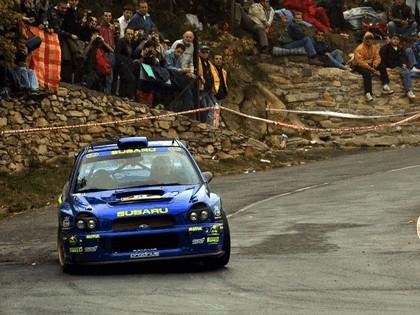 2001 Subaru Impreza WRC 246