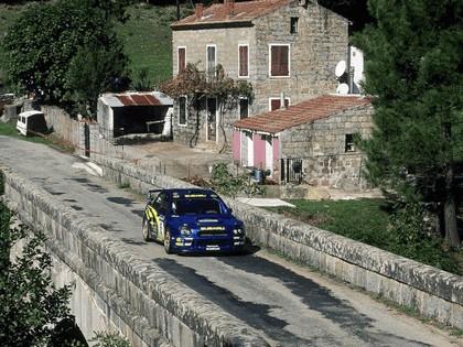 2001 Subaru Impreza WRC 258