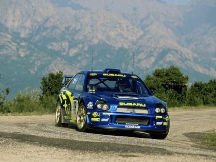 2001 Subaru Impreza WRC 259