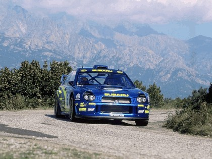 2001 Subaru Impreza WRC 262