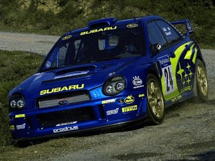 2001 Subaru Impreza WRC 268