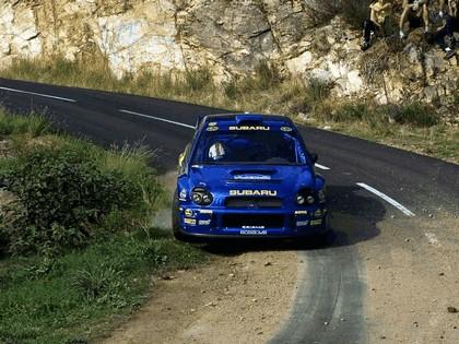 2001 Subaru Impreza WRC 269