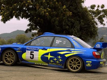 2001 Subaru Impreza WRC 272