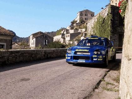 2001 Subaru Impreza WRC 277