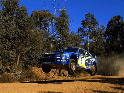 2001 Subaru Impreza WRC 278
