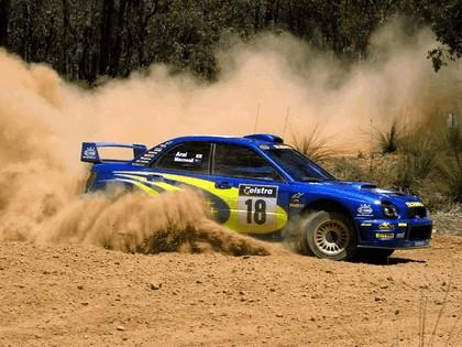 2001 Subaru Impreza WRC 284