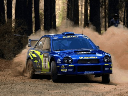 2001 Subaru Impreza WRC 285