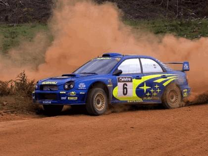 2001 Subaru Impreza WRC 286