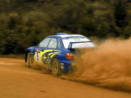 2001 Subaru Impreza WRC 287
