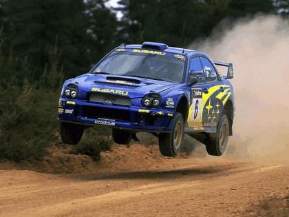 2001 Subaru Impreza WRC 300
