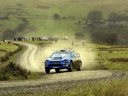 2001 Subaru Impreza WRC 314