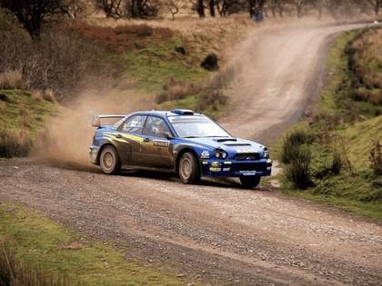 2001 Subaru Impreza WRC 322