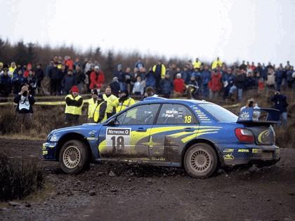 2001 Subaru Impreza WRC 323