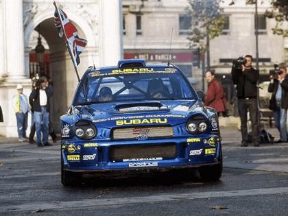 2001 Subaru Impreza WRC 333