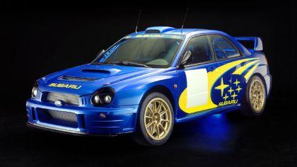 2001 Subaru Impreza WRC 8