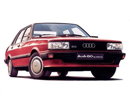 1982 Audi 80 quattro 5E 3