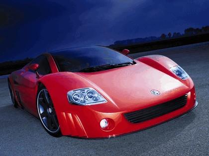 2001 Volkswagen W12 coupé concept 5