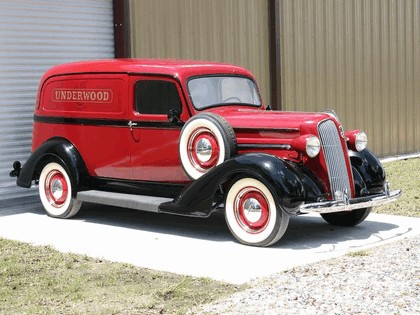 1937 Plymouth Sedan Delivery 1