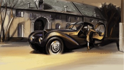 1936 Bugatti Type 57SC Atlantic 7