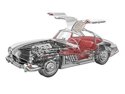 1954 Mercedes-Benz 300 SL ( R198 ) 55