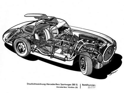 1954 Mercedes-Benz 300 SL ( R198 ) 56