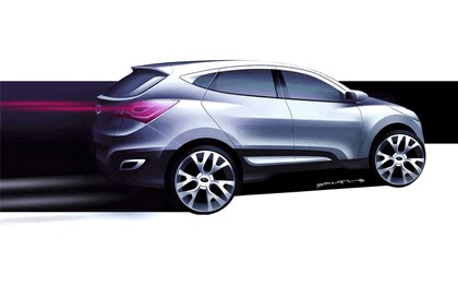 2009 Hyundai HED-6 concept sketches 1