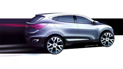 2009 Hyundai HED-6 concept sketches 4