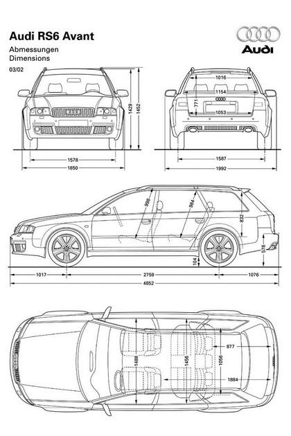 2002 Audi RS6 Avant 28